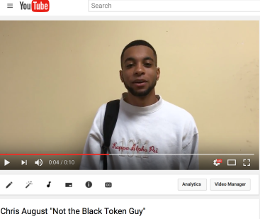 Chris August's Youtube video