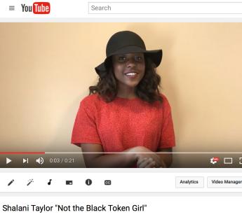 Shaman Taylor's Youtube video