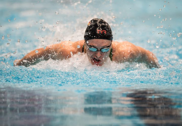 Kelsi Worrell Swims for a Purpose